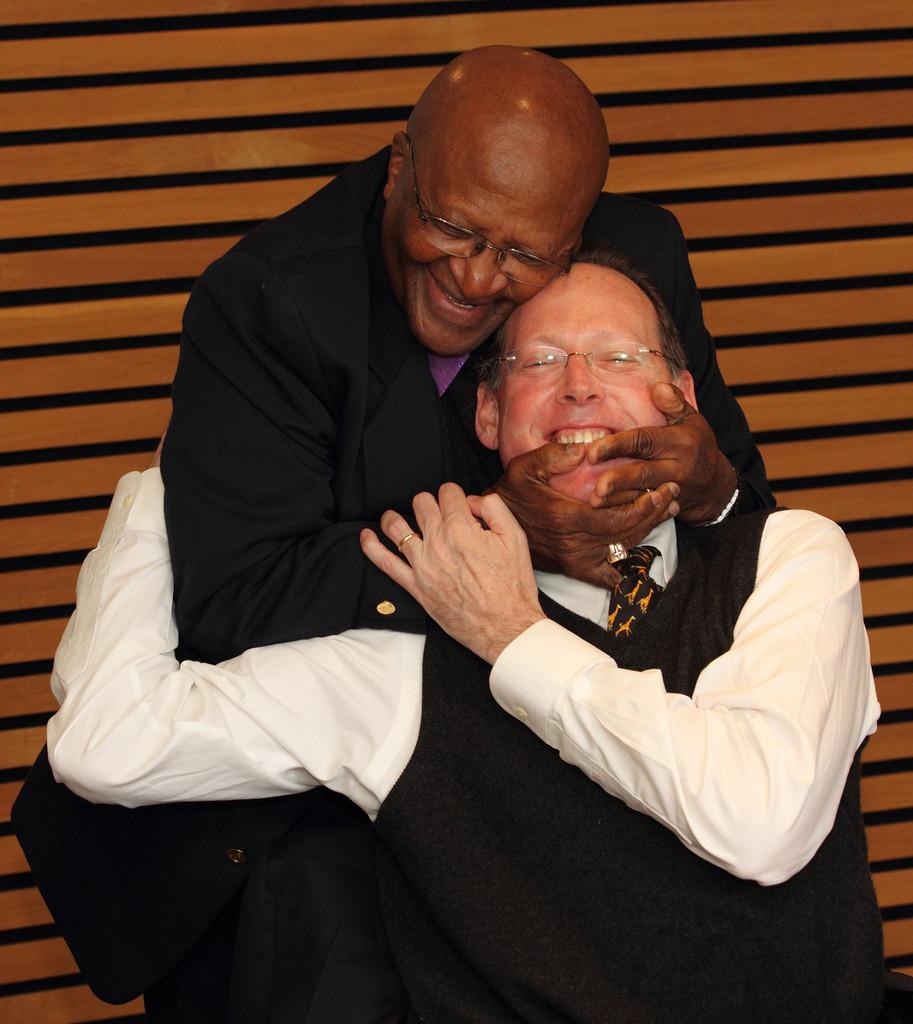 Desmond Tutu and Paul Farmer