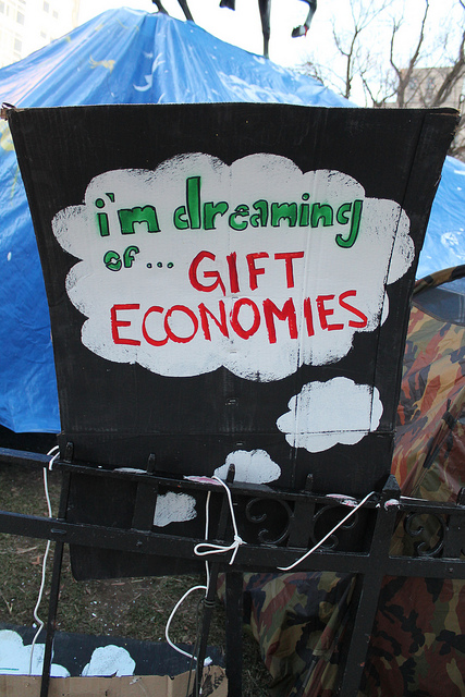 dreaming of gift economies