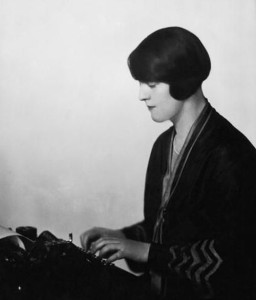 "Dorothy Thompson, the ""First Lady of American Journalism"" in 1920"