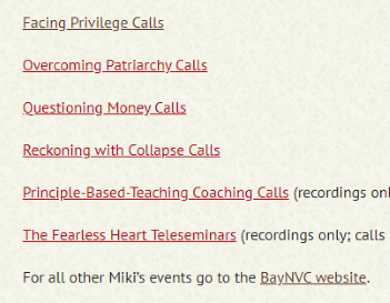 Recordings of Miki's Free Calls